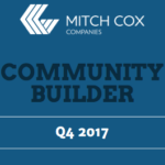 community builder newsletter mitch cox